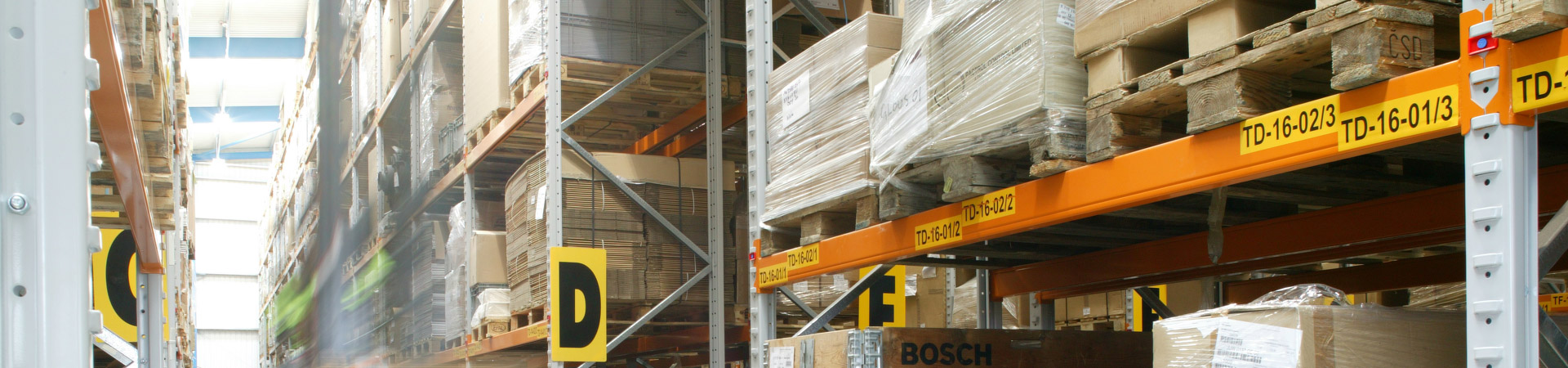 Header-palletracking