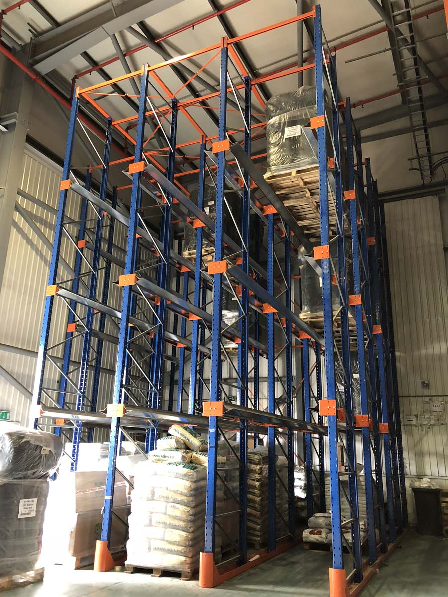 Spartan-Products_Drive In Pallet Racking